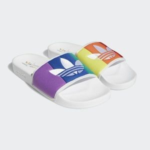 Adidas Originals Men's Pride Slides